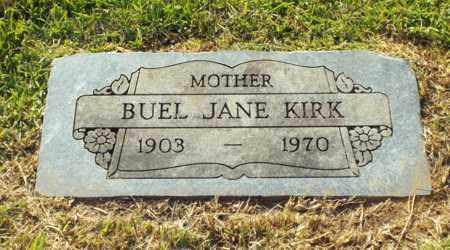 KIRK, BUEL JANE - Claiborne County, Louisiana | BUEL JANE KIRK - Louisiana Gravestone Photos