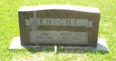 KNIGHT, MONTIE - Claiborne County, Louisiana | MONTIE KNIGHT - Louisiana Gravestone Photos