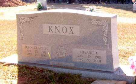 KNOX, THEADIS G - Claiborne County, Louisiana | THEADIS G KNOX - Louisiana Gravestone Photos