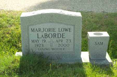 LABORDE, MARJORIE - Claiborne County, Louisiana | MARJORIE LABORDE - Louisiana Gravestone Photos
