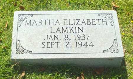 LAMKIN, MARTHA ELIZABETH - Claiborne County, Louisiana   MARTHA ELIZABETH LAMKIN - Louisiana Gravestone Photos