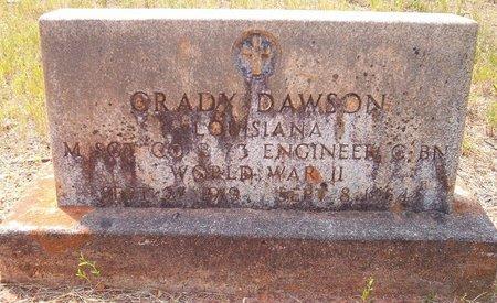 DAWSON, GRADY (VETERAN WWII) - Claiborne County, Louisiana | GRADY (VETERAN WWII) DAWSON - Louisiana Gravestone Photos