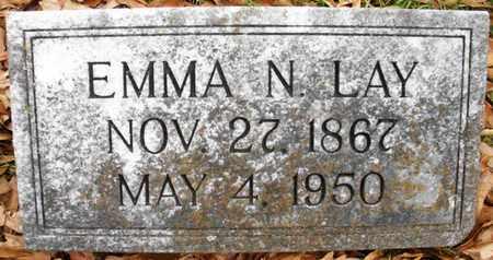NELSON LAY, EMMA - Claiborne County, Louisiana | EMMA NELSON LAY - Louisiana Gravestone Photos