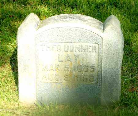 BONNER LAY, THEO - Claiborne County, Louisiana | THEO BONNER LAY - Louisiana Gravestone Photos