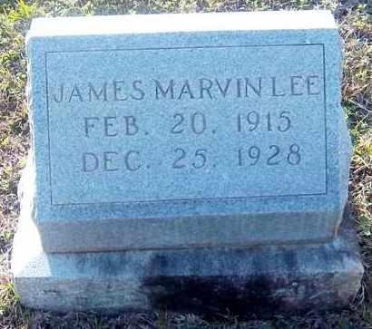 LEE, JAMES MARVIN - Claiborne County, Louisiana | JAMES MARVIN LEE - Louisiana Gravestone Photos