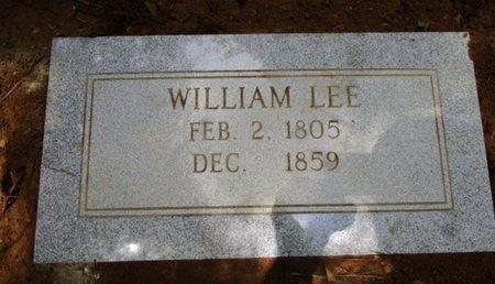 LEE, WILLIAM - Claiborne County, Louisiana   WILLIAM LEE - Louisiana Gravestone Photos