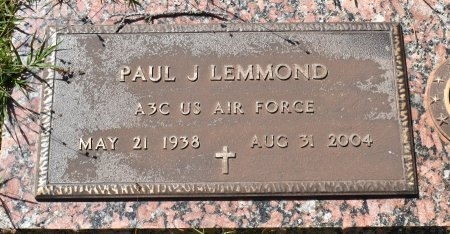 LEMMOND, PAUL J (VETERAN) - Claiborne County, Louisiana | PAUL J (VETERAN) LEMMOND - Louisiana Gravestone Photos