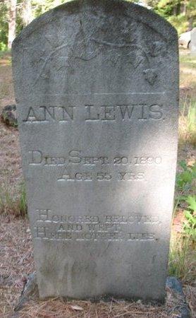 LEWIS, ANN - Claiborne County, Louisiana | ANN LEWIS - Louisiana Gravestone Photos