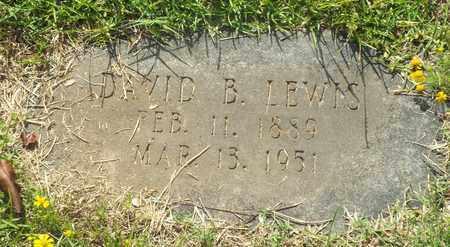LEWIS, DAVID B - Claiborne County, Louisiana   DAVID B LEWIS - Louisiana Gravestone Photos