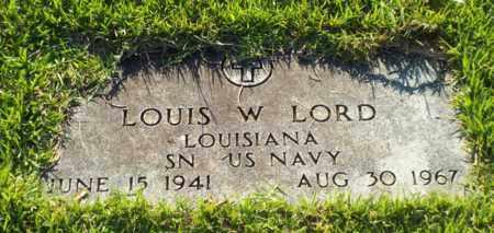 LORD, LOUIS W (VETERAN) - Claiborne County, Louisiana   LOUIS W (VETERAN) LORD - Louisiana Gravestone Photos