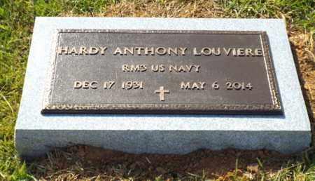 LOUVIERE, HARDY ANTHONY (VETERAN) - Claiborne County, Louisiana | HARDY ANTHONY (VETERAN) LOUVIERE - Louisiana Gravestone Photos