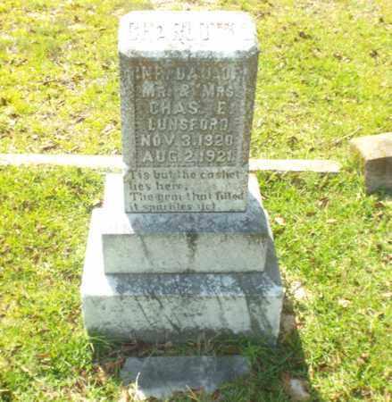 LUNSFORD, CHARLOTTE - Claiborne County, Louisiana   CHARLOTTE LUNSFORD - Louisiana Gravestone Photos