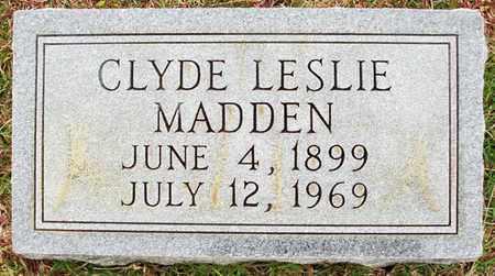 MADDEN, CLYDE LESLIE - Claiborne County, Louisiana   CLYDE LESLIE MADDEN - Louisiana Gravestone Photos