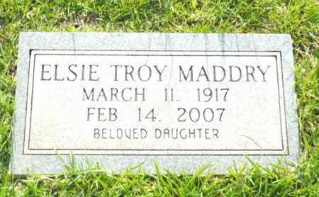 MADDRY, ELSIE TROY - Claiborne County, Louisiana | ELSIE TROY MADDRY - Louisiana Gravestone Photos