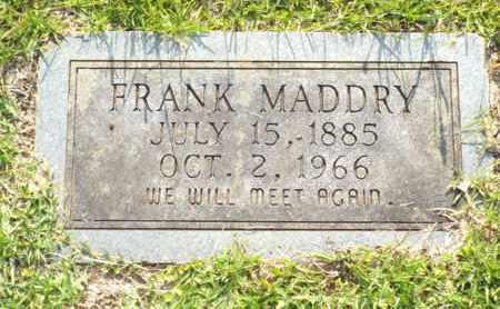 MADDRY, FRANK - Claiborne County, Louisiana | FRANK MADDRY - Louisiana Gravestone Photos