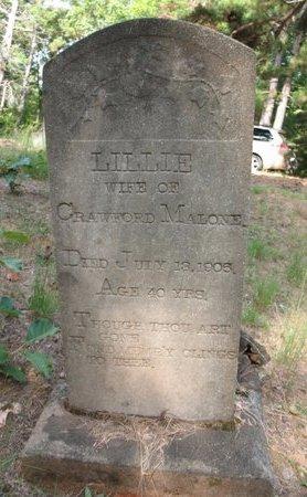 MALONE, LILLIE - Claiborne County, Louisiana | LILLIE MALONE - Louisiana Gravestone Photos