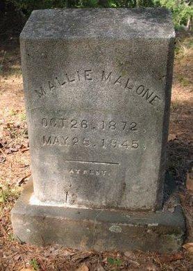 MALONE, MALLIE - Claiborne County, Louisiana | MALLIE MALONE - Louisiana Gravestone Photos