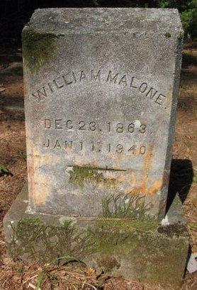 MALONE, WILLIAM - Claiborne County, Louisiana | WILLIAM MALONE - Louisiana Gravestone Photos