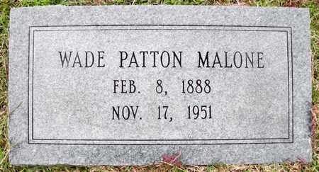 MALONE, WADE PATTON - Claiborne County, Louisiana | WADE PATTON MALONE - Louisiana Gravestone Photos