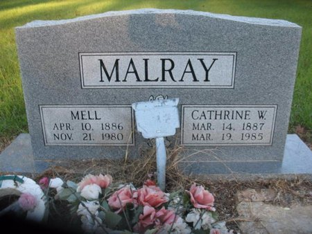 MALRAY, CATHRINE W - Claiborne County, Louisiana | CATHRINE W MALRAY - Louisiana Gravestone Photos