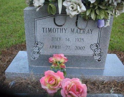 MALRAY, TIMOTHY - Claiborne County, Louisiana | TIMOTHY MALRAY - Louisiana Gravestone Photos