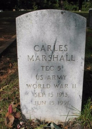 MARSHALL, CARLES  (VETERAN WWII) - Claiborne County, Louisiana   CARLES  (VETERAN WWII) MARSHALL - Louisiana Gravestone Photos