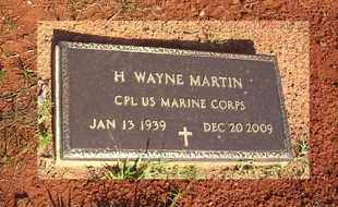 MARTIN, H WAYNE (VETERAN) - Claiborne County, Louisiana | H WAYNE (VETERAN) MARTIN - Louisiana Gravestone Photos