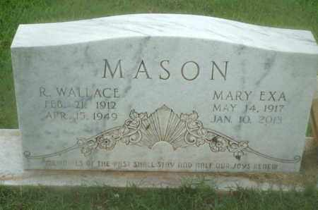 MASON, R WALLACE - Claiborne County, Louisiana | R WALLACE MASON - Louisiana Gravestone Photos