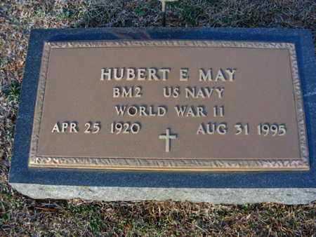 MAY, HUBERT E (VETERAN WWII) - Claiborne County, Louisiana | HUBERT E (VETERAN WWII) MAY - Louisiana Gravestone Photos