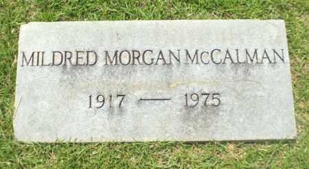 MCCALMAN, MILDRED - Claiborne County, Louisiana | MILDRED MCCALMAN - Louisiana Gravestone Photos