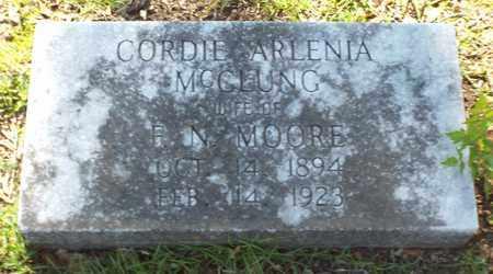 MOORE, CORDIE ARLENIA - Claiborne County, Louisiana | CORDIE ARLENIA MOORE - Louisiana Gravestone Photos