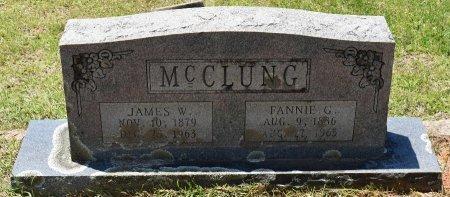 MCCLUNG, FANNIE G - Claiborne County, Louisiana | FANNIE G MCCLUNG - Louisiana Gravestone Photos