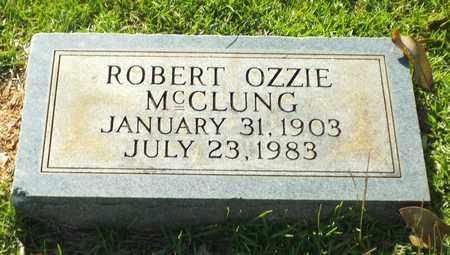 MCCLUNG, ROBERT OZZIE - Claiborne County, Louisiana   ROBERT OZZIE MCCLUNG - Louisiana Gravestone Photos
