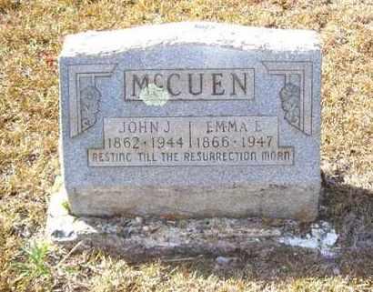 MCCUEN, EMMA E - Claiborne County, Louisiana | EMMA E MCCUEN - Louisiana Gravestone Photos