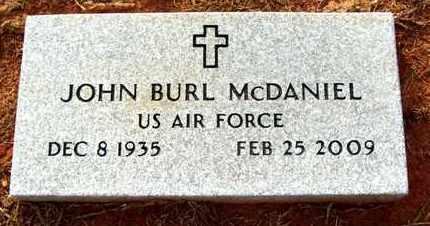 MCDANIEL, JOHN BURL (VETERAN) - Claiborne County, Louisiana | JOHN BURL (VETERAN) MCDANIEL - Louisiana Gravestone Photos