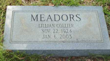 MEADORS, LILLIAN - Claiborne County, Louisiana | LILLIAN MEADORS - Louisiana Gravestone Photos