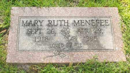 MENEFEE, MARY RUTH - Claiborne County, Louisiana   MARY RUTH MENEFEE - Louisiana Gravestone Photos