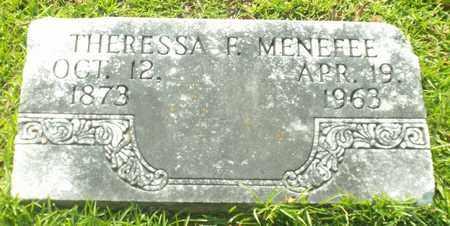 MENEFEE, THERESSA F - Claiborne County, Louisiana | THERESSA F MENEFEE - Louisiana Gravestone Photos