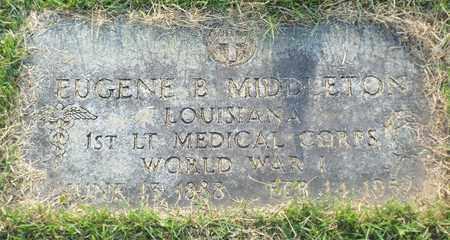 MIDDLETON, EUGENE B (VETERAN WWI) - Claiborne County, Louisiana | EUGENE B (VETERAN WWI) MIDDLETON - Louisiana Gravestone Photos
