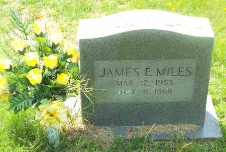 MILES, JAMES E - Claiborne County, Louisiana | JAMES E MILES - Louisiana Gravestone Photos