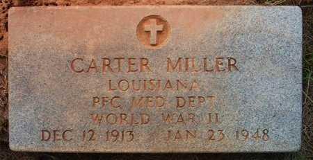 MILLER, CARTER (VETERAN WWII) - Claiborne County, Louisiana | CARTER (VETERAN WWII) MILLER - Louisiana Gravestone Photos