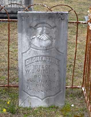 MITCHAM, CLEMENTINE - Claiborne County, Louisiana   CLEMENTINE MITCHAM - Louisiana Gravestone Photos