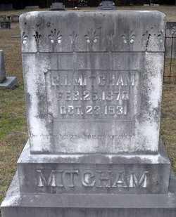 MITCHAM, R I - Claiborne County, Louisiana   R I MITCHAM - Louisiana Gravestone Photos