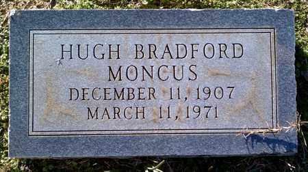 MONCUS, HUGH BRADFORD - Claiborne County, Louisiana | HUGH BRADFORD MONCUS - Louisiana Gravestone Photos