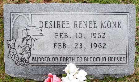 MONK, DESIREE RENEE - Claiborne County, Louisiana | DESIREE RENEE MONK - Louisiana Gravestone Photos