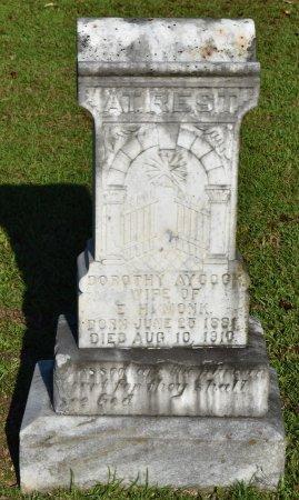 MONK, DOROTHY - Claiborne County, Louisiana | DOROTHY MONK - Louisiana Gravestone Photos