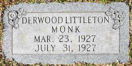 MONK, DERWOOD LITTLETON - Claiborne County, Louisiana   DERWOOD LITTLETON MONK - Louisiana Gravestone Photos