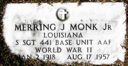 MONK, MERRING J,JR (VETERAN WWII) - Claiborne County, Louisiana | MERRING J,JR (VETERAN WWII) MONK - Louisiana Gravestone Photos