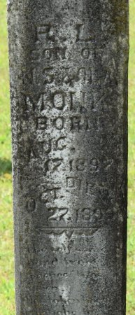 MONK, R L (CLOSE UP) - Claiborne County, Louisiana | R L (CLOSE UP) MONK - Louisiana Gravestone Photos