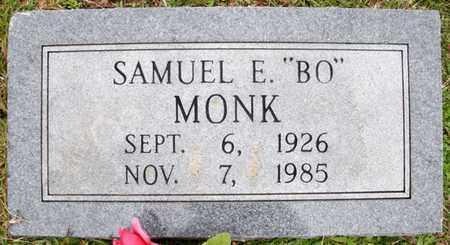 "MONK, SAMUEL E ""BO"" - Claiborne County, Louisiana | SAMUEL E ""BO"" MONK - Louisiana Gravestone Photos"